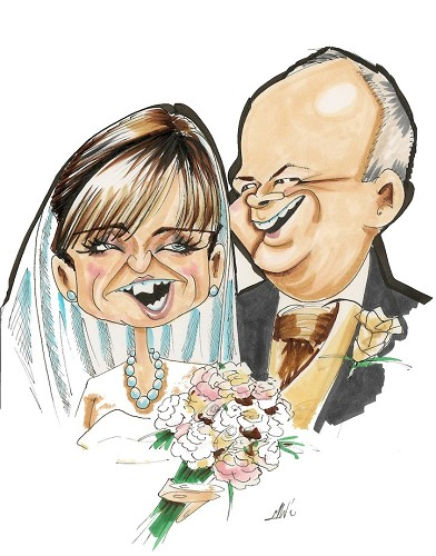 Caricatures And Cartoons by Mick Wright