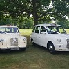 White London Taxi Wedding Cars