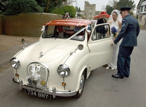 The Ashdown Classic Wedding Car Collection