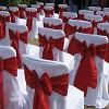 White Linen Chair Cover Hire & Venue Styling