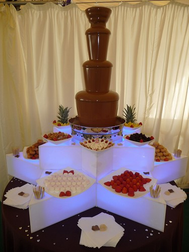 Hot Chocolates - Chocolate Fountain Hire