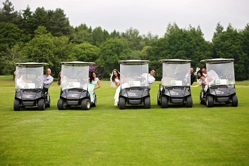 Weddings at Paultons Golf Centre