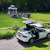 Falcon Tesla Wedding Cars