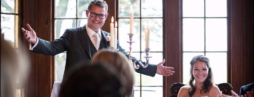 How to deliver a groom's speech