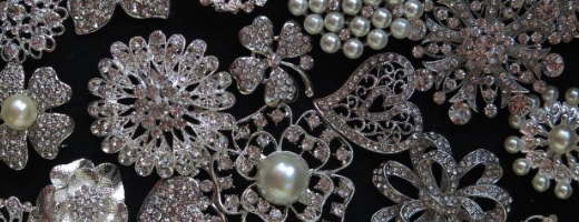 How to Make your Own Jewellery Wedding Brooch Bouquet