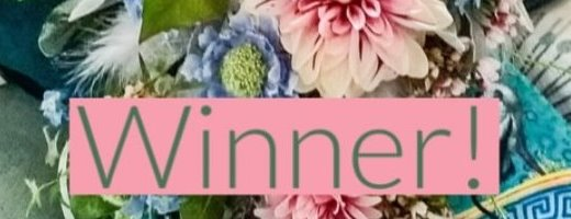 Winner of our £400 Wedding Flowers Competition with Chirpee Flowers