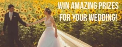 Win One of Three Amazing Prizes for Your Wedding Day!